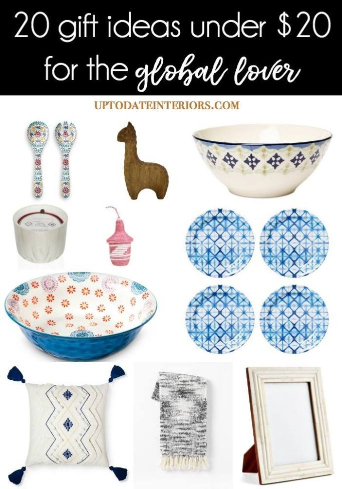 20 gifts under $20 for the global style lover