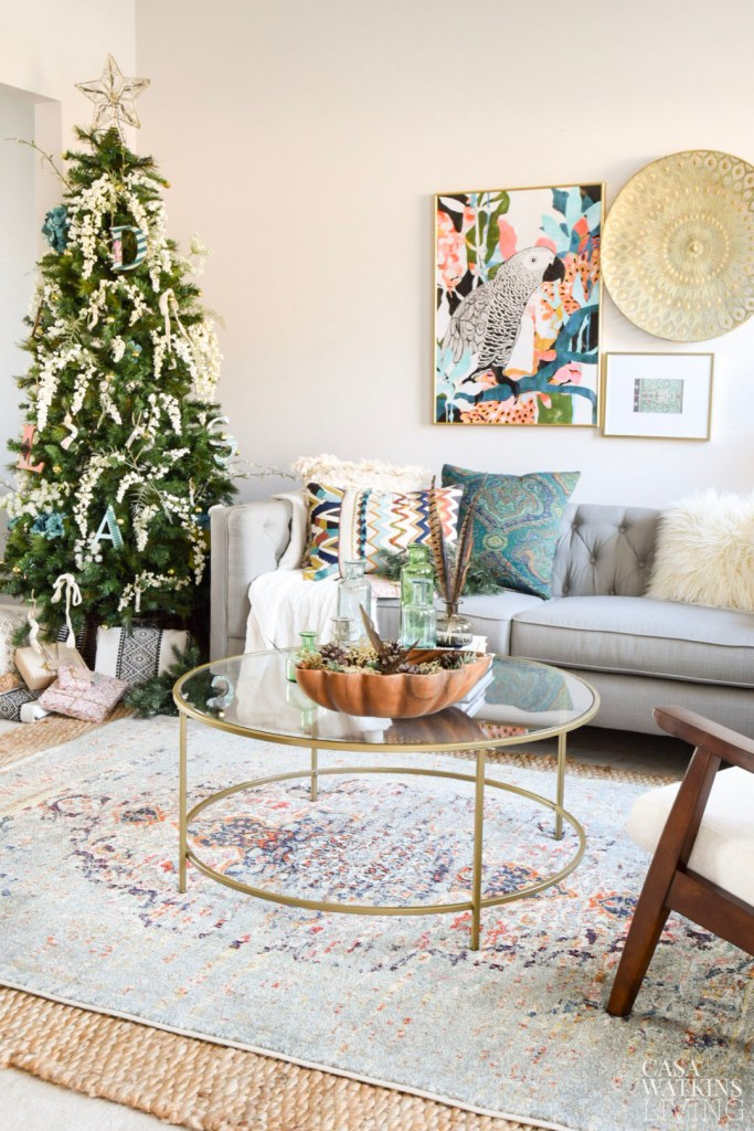 Simple Bohemian Christmas Tree