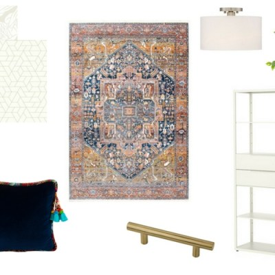 Boho Chic Craft Room Decor: NYNR Challenge Week 2