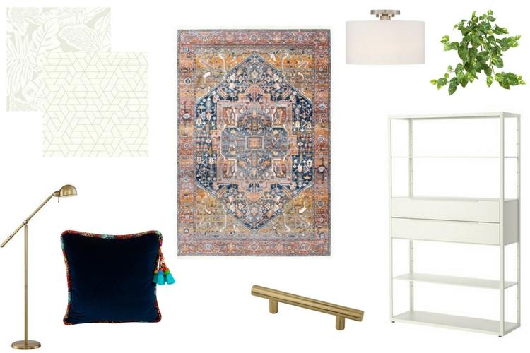 Boho Chic Craft Room Decor: NYNR Challenge Week 2