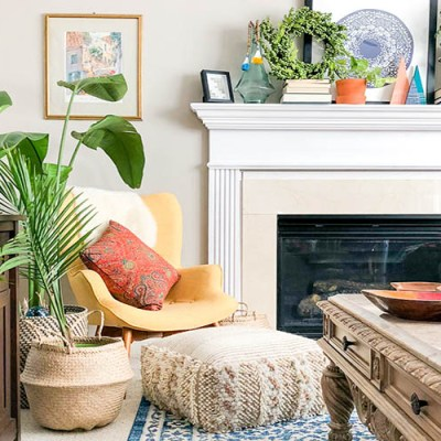 Adding Plants To A Room For Early Spring Vibes