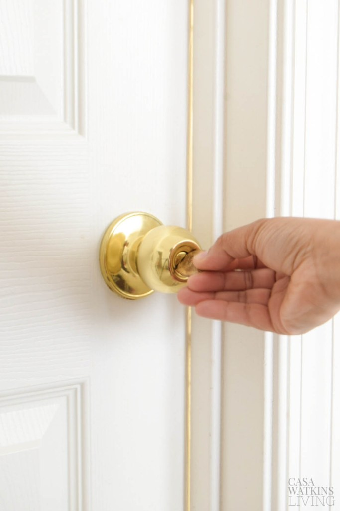one good tip when toddlers start locking doors