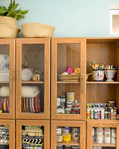 From Whoops To Wow: Craft Room Cabinet Upgrade