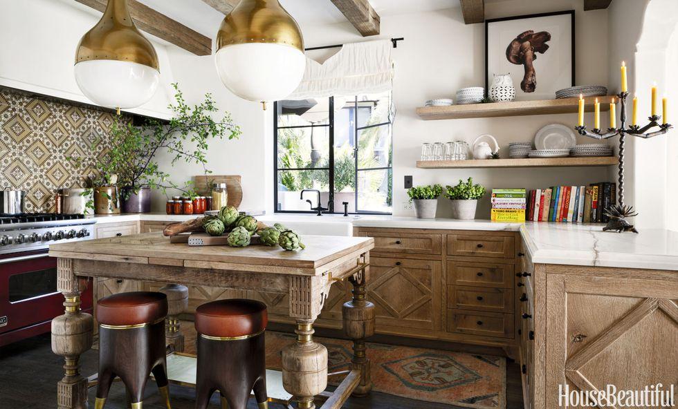 Modern Spanish Kitchen  House Beautiful