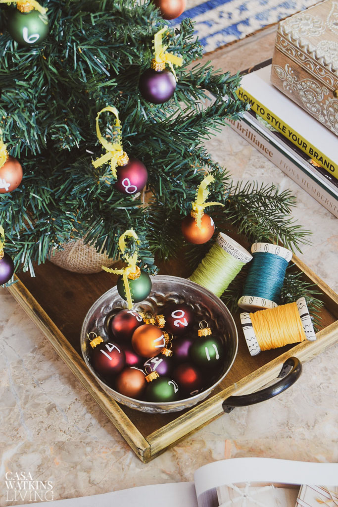 How To Decorate The Coffee Table For The Holidays Casa Watkins Living
