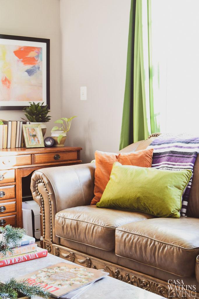 Global Bohemian Holiday Decor Ideas For The Living Room Casa Watkins Living