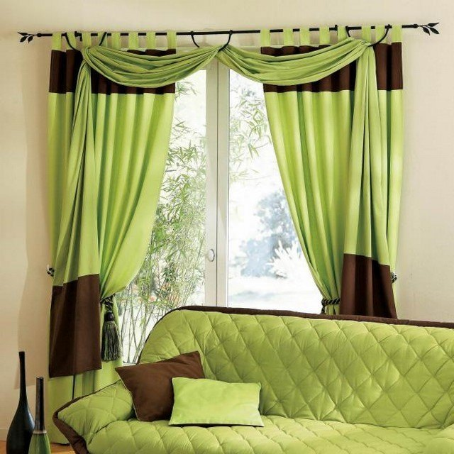 Cortinas para saln crea un ambiente ameno en tu hogar