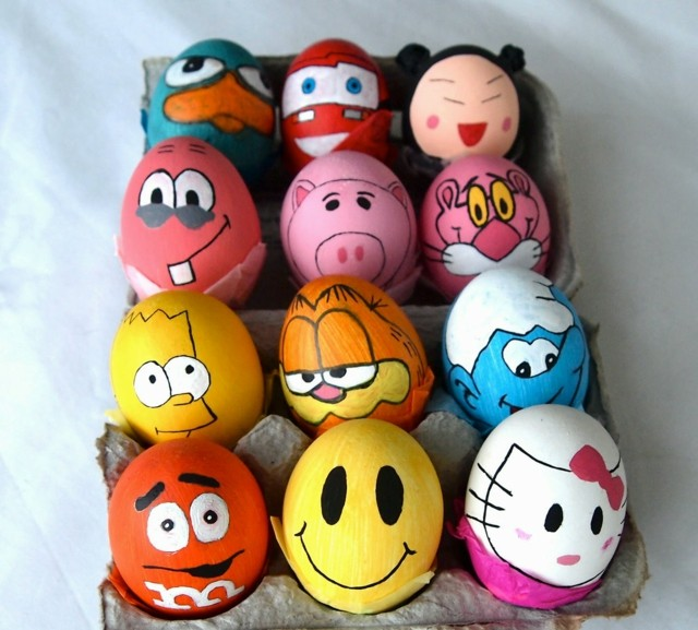 DIY Halloween Monster Confetti Eggs Crafts