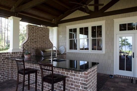 Cocinas de diseo veraniegosabores y estilos al aire libre