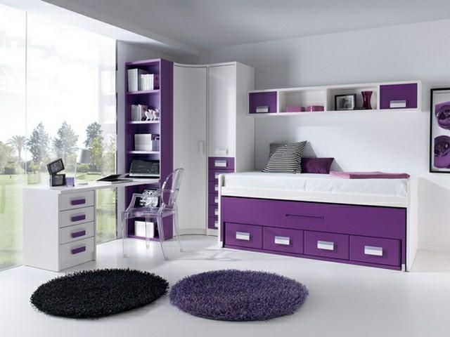 Habitaciones juveniles para chicas adolescentes