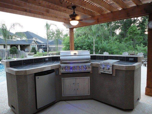Barbacoas de obra y cocinas exteriores
