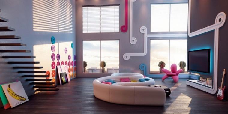 Muebles de saln  estilo moda y comodidad