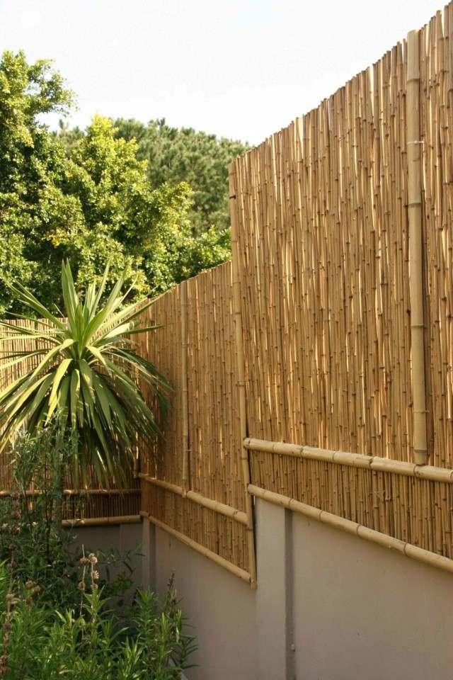 Vallas de madera con bamb la solucin inteligente