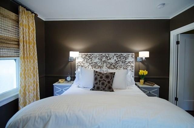 Colores para habitaciones crea un espacio exclusivo