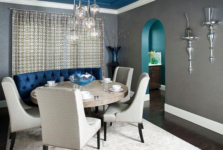 Comedores y decoracin reglate la elegancia del gris