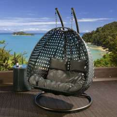 Egg Swing Chair Behind The Promo Code Sillones Colgantes De Jardín, Terraza O Patio