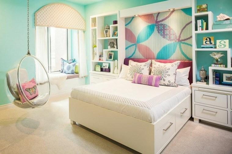Los Colores Perfectos Para La Pared De La Habitación Juvenil