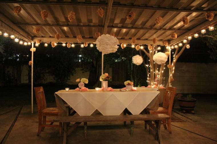 Decoracin de terrazas para fiestas diversin garantizada