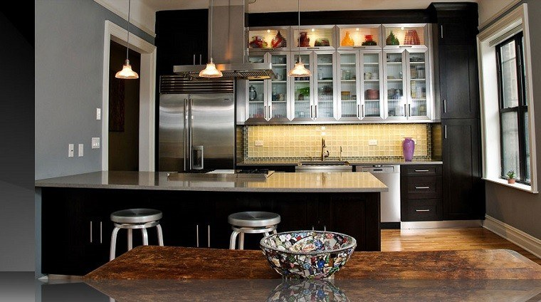 remodeling kitchen ideas tiled floors cocinas rústicas con un toque muy artístico