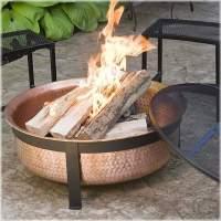 Mobiliario de jardn y pozos de fuego creativos.