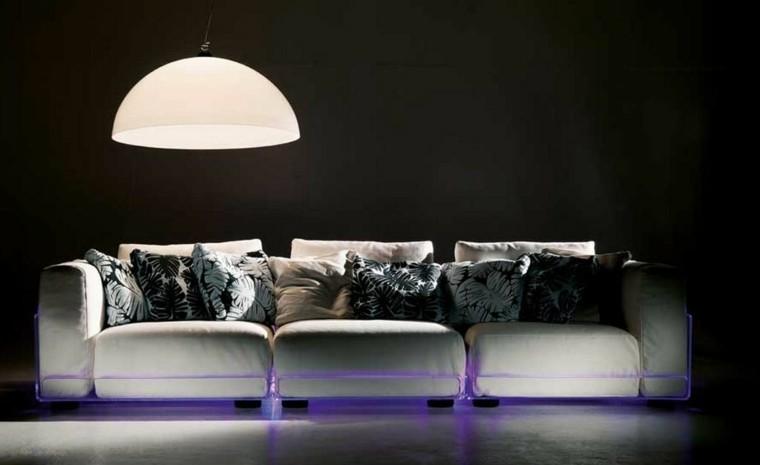 moderno led decoracion lampara sofa