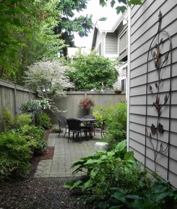 jardines pequeos patios traseros