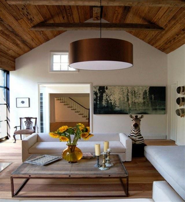 Techo de madera atractivo clasico en tu hogar