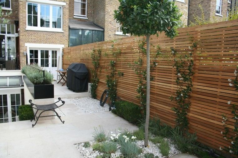 Diseo de jardines pequeos y modernos  50 ideas