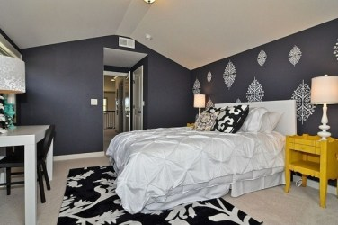colores paredes habitaciones grises gris dormitorio blanco oscuro cuarto dormitorios schlafzimmer paleta ideen claros habitacion wandtattoo techo modern cama habitacion