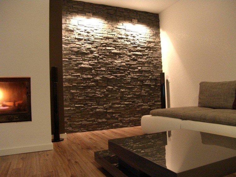 Decoracion Con Piedras En Interiores Finest Le Inyectan