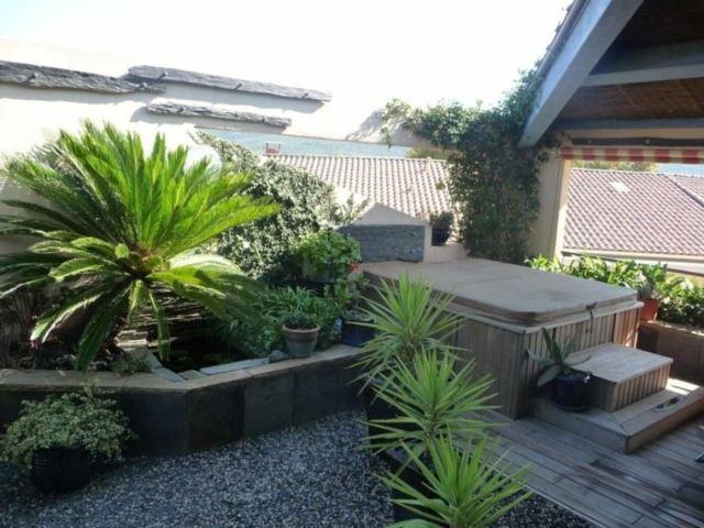 diseño terraza jardin pequeño plantas
