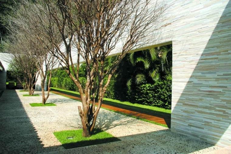 Revestimiento de paredes exteriores  50 ideas