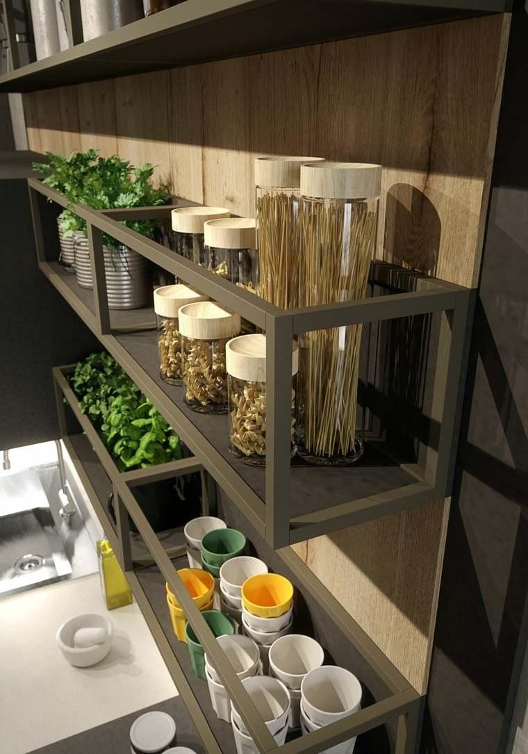 Loft y cocina con diseo de estilo industrial y rstico