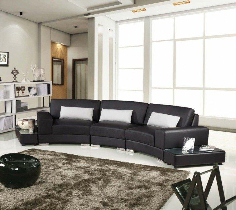 Decorar salas de estar en blanco y negro se atreve