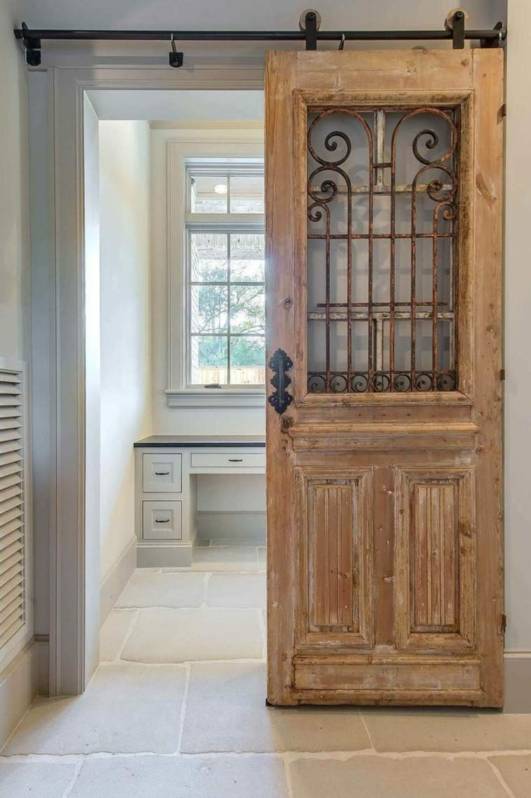 Barn Door Interior