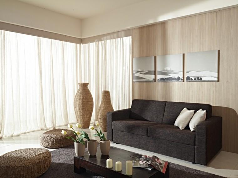 Muebles de salon modernos y funcionales menos es ms