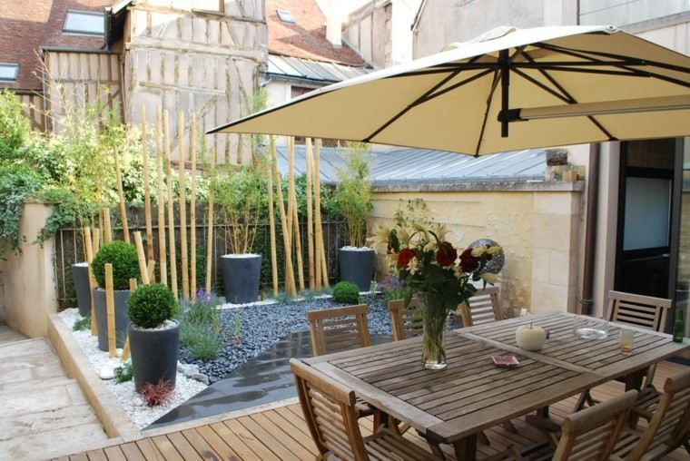 Ideas para terrazas patios o balcones acogedores