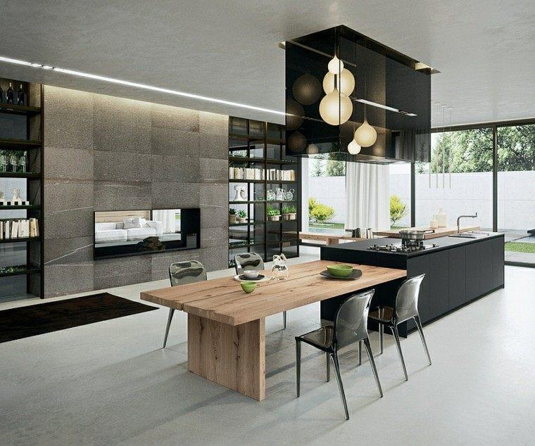 Diseo de cocinas modernas  100 ejemplos geniales