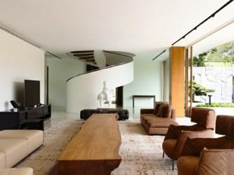casas modernas interiores decorar madera salon elementos modernos escaleras tendencias afirman disenadores actualidad gran hay