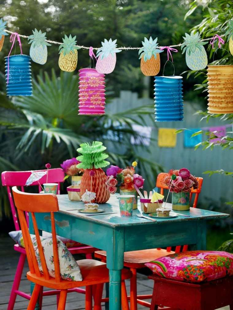 Party en el jardn  50 ideas para decorados de fiestas