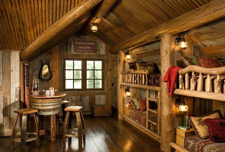 kitchen cabinets cleveland ohio cheap countertops habitacion diseño rústico - 50 ideas para vivir lo natural.