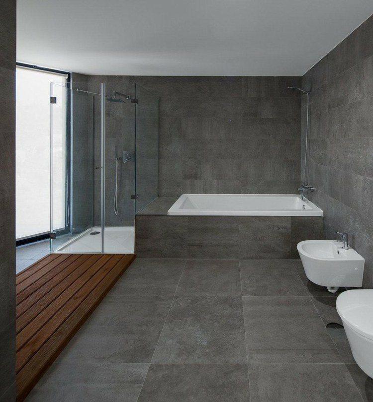 Interiores minimalistas baos modernos y elegantes
