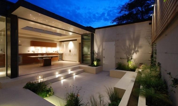 Ideas creativas jardines pequeos muy modernos