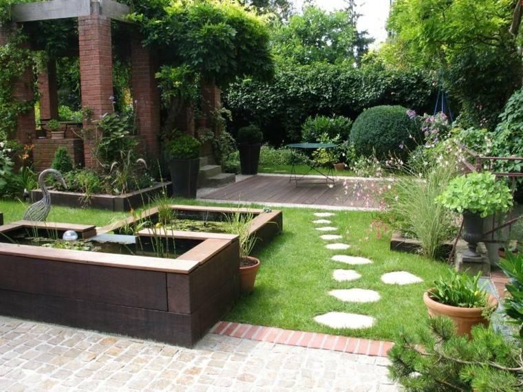 Diseo de jardines pequeos grandes ideas para el jardn