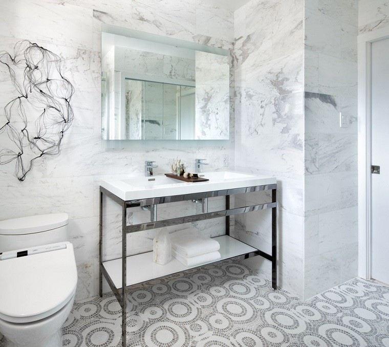 muebles baño estilo retro