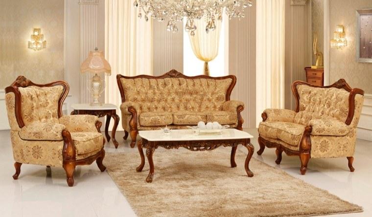 Muebles de saln estilo victoriano precioso