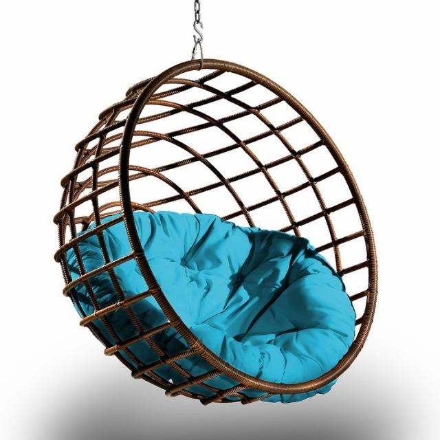 Columpios y sillas colgantes para el jardn  50 ideas