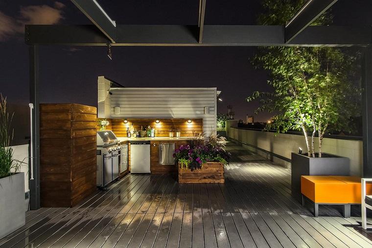 Cocinas modernas para el aire libre 50 ideas exquisitas