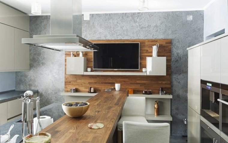 Barras de cocina de diseo moderno  50 ideas