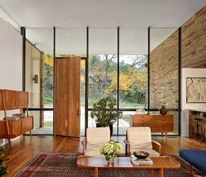 interiores casas modernas diseno madera elementos modernos bonito